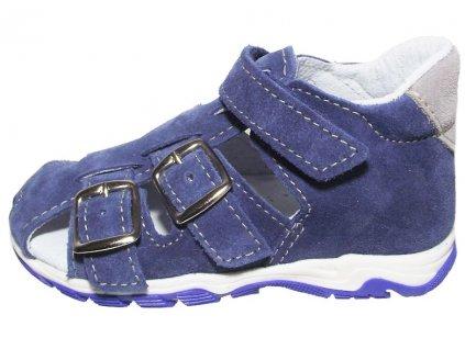 Dětské letní sandálky Jonap 013 modré