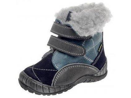 Dětské zimní kotníkové boty Fare 2146201 modrá