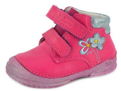 Dětské celoroční boty D.D.step 038-233E růžové 4cfbaa8b7d