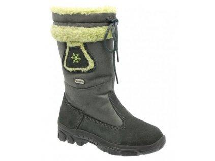 Dětské zimní boty KTR Attiba 905 šedá