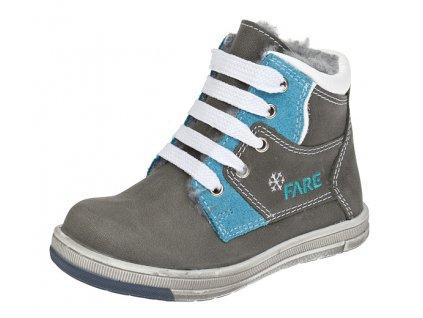 Dětské zimní kotníkové boty Fare 842162 modré
