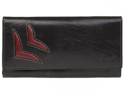 Dámská kožená peněženka Lagen 6011/T černá