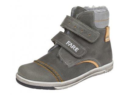 Dětské zimní kotníkové boty Fare 2645161 šedé