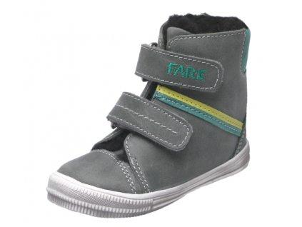 Dětské zimní kotníkové boty Fare 2149161 šedé