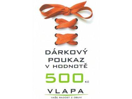 VLAPA dárkový poukaz 500 Kč