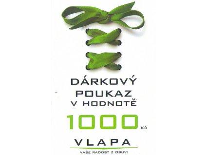 VLAPA dárkový poukaz 1000 Kč