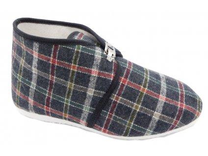 Dámské domácí papuče Bokap 063 černé c0a1558ae7