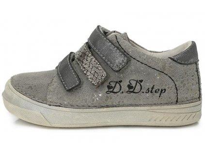 fb58c2cfc96 Dětské celoroční boty D.D.step 040-409 šedé