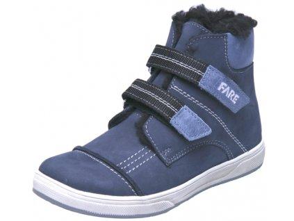 Dětské zimní kotníkové boty Fare 2645202 modrá