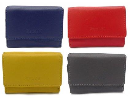 Malá kožená peněženka Segali SG - 1755