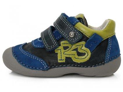 Dětské celoroční boty D.D.step 015-137B modré cf3c0b6bae
