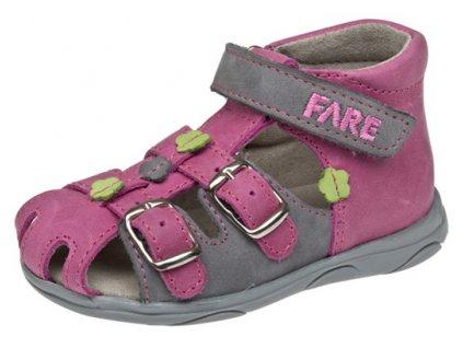Dětské letní sandálky Fare 568159 růžové