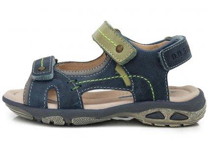 Dětské letní sandálky D.D.step AC290-7012 modré