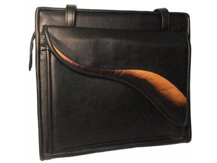 Černá dámská kabelka M&M Eva