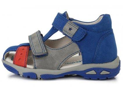 Dětské letní sandálky D.D.step AC290-7003A modré