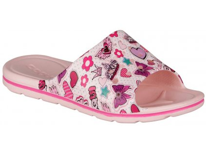 coqui 6375 long printed candy pink 001