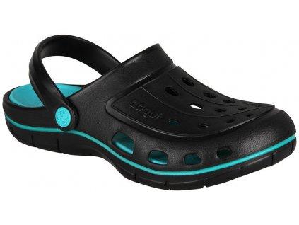 coqui 6352 jumper black turquoise 001