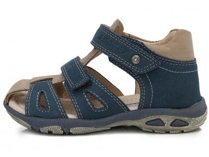 Dětské letní sandálky D.D.step AC290-7014 modré