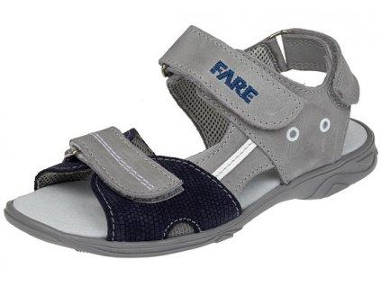 Dětské letní sandálky Fare 1761162 šedé