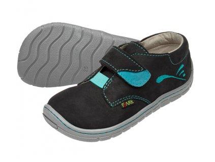 Dětské celoroční boty Fare Bare 5112211 černé