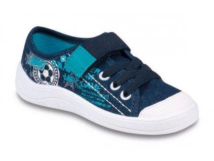 aa9777b439f Dětské textilní tenisky Befado 251x040 modré