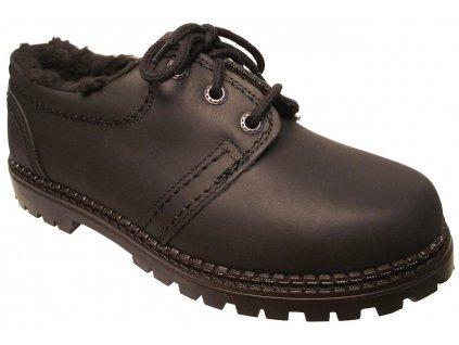 Dámská zimní obuv Redno 096 602/Z černá