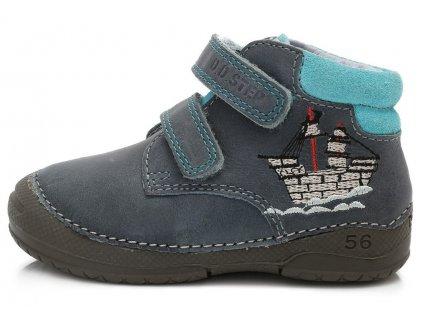 Dětské celoroční boty D.D.step 038-251 modré