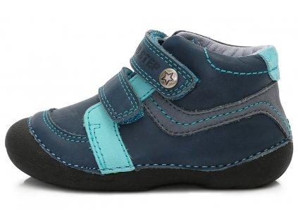 Dětské celoroční boty D.D.step 015-150 modré
