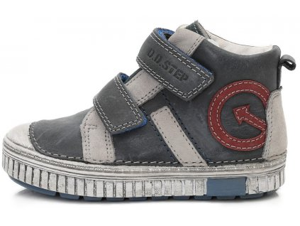 5c2712a5d7f Dětské kotníkové celoroční boty D.D.step 033-2000A šedé