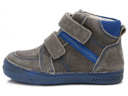 Dětské kotníkové celoroční boty D.D.step 040-417 šedé