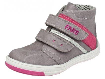 Dětské celoroční kotníkové boty Fare 820194 šedé