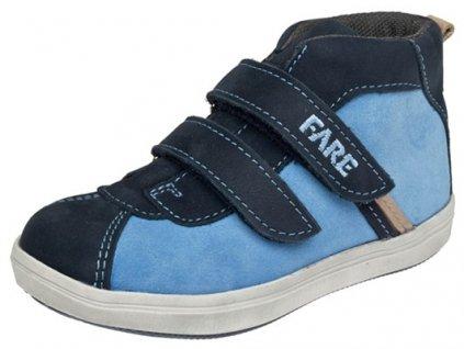 aa7286e4f8d Dětské celoroční kotníkové boty Fare 819302 modré