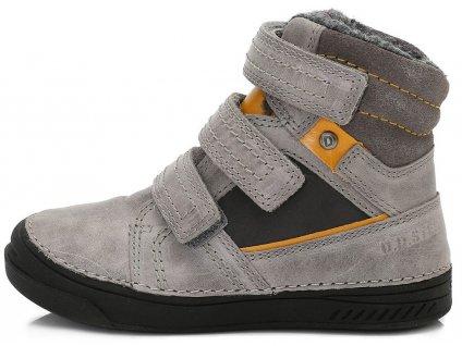 Dětské zimní kotníkové boty D.D.step 040-426 šedé