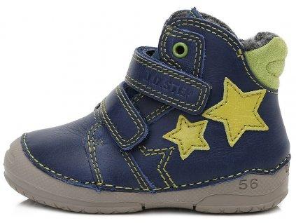 ce5a3961f1c Dětské zimní kotníkové boty D.D.step 038-253A modré