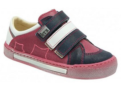 Dětské celoroční boty KTR 232 růžová