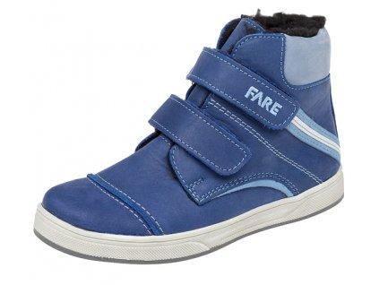 Dětské zimní kotníkové boty Fare 2645101 modrá
