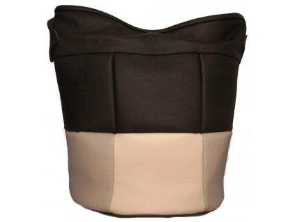 Černá dámská kabelka (pytel) M&M Whitney