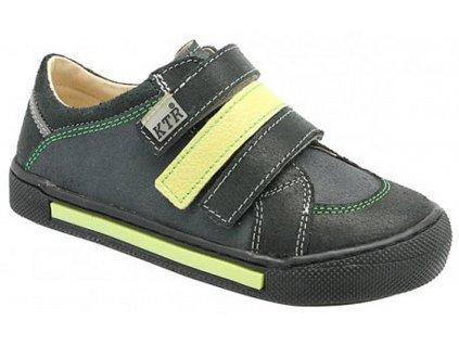 Dětské celoroční boty KTR 232 šedá