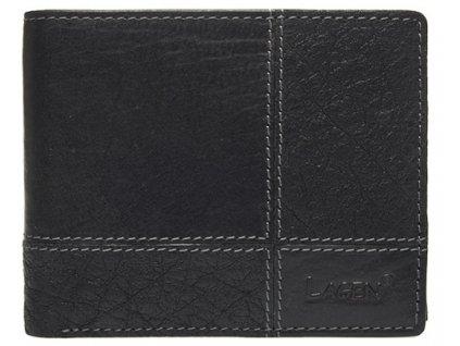 Pánská kožená peněženka Lagen 2108/T černá