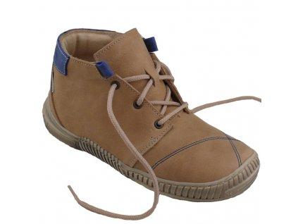 Dětské celoroční boty Pegres 1406B béžové