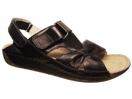 Dámské letní sandály Kira 610 černé