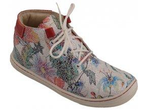 Dětské celoroční boty Pegres 1406B květina