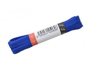 Ploché tkaničky do bot 11 modrá