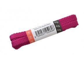 Ploché tkaničky do bot 11 fialová