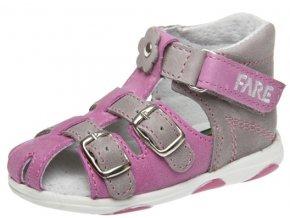 Dětské letní sandálky Fare 568154 růžové