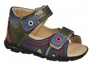 Dětské letní sandálky KTR 119 modré