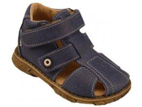 Dětské letní sandálky Pegres 1201 modré