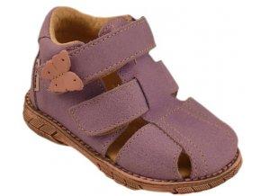 Dětské letní sandálky Pegres 1201 fialové