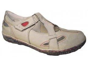 Dámská letní obuv Hilby 2032 béžová