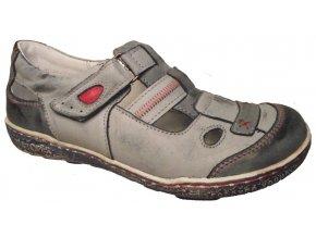 Dámská letní obuv Hilby 2033 modrá